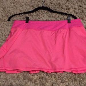 lululemon athletica Shorts - Lulu pink tennis skirt